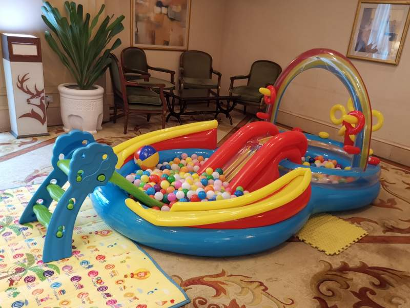 Ball Pit Rental Singapore | Rainbow Ring Play Center Ball Pool